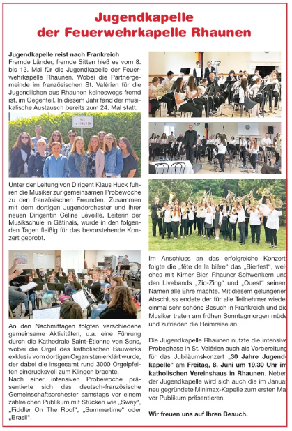Artikel aus der Idarwaldrundschau 2018/23