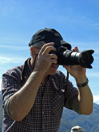 """Foto von einem Freund in den """"Bündner-Bergen"""" gemacht"""