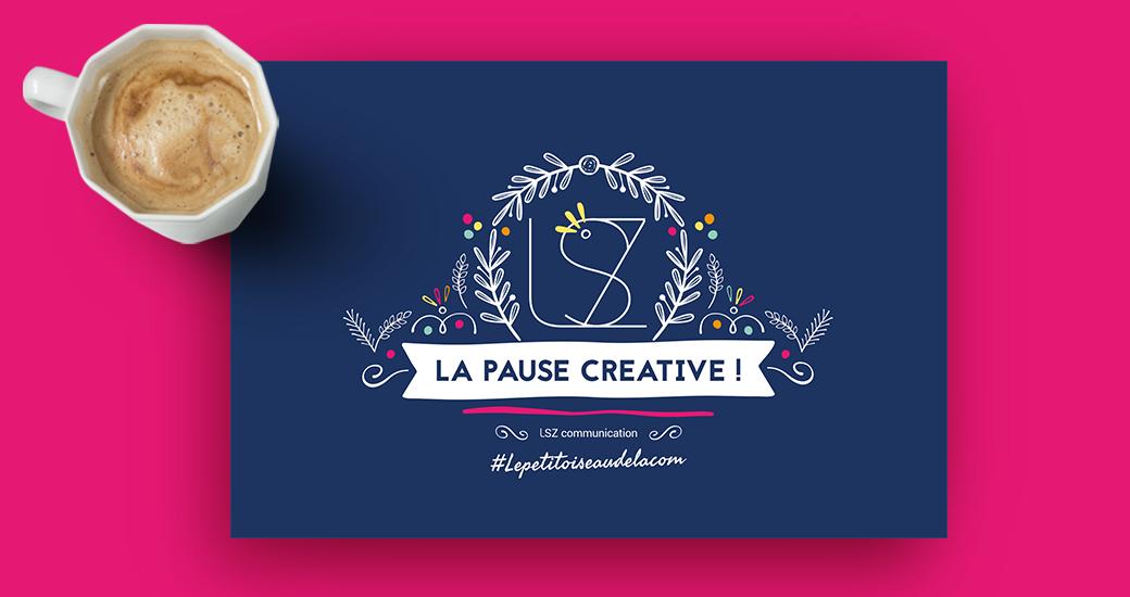 LSZ Communication - Graphiste - Directrice artistique freelance Nantes - #lepetitoiseaudelacom - Illustration - Carte Voeux - Bonne année 2019
