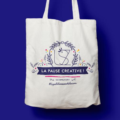 LSZ Communication - Graphiste - Directrice artistique freelance Nantes - #lepetitoiseaudelacom - Illustration - Totebag - Bonne année 2019