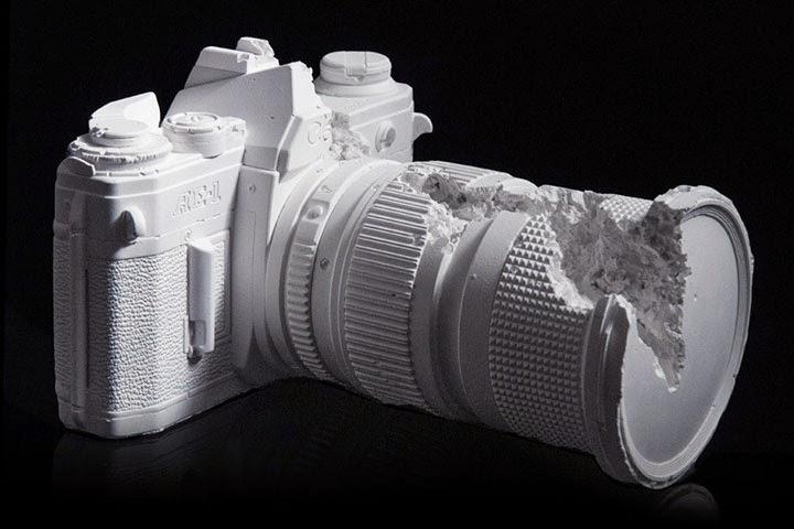 Гипсовые камеры. Техно-арт от Даниэля Аршама.