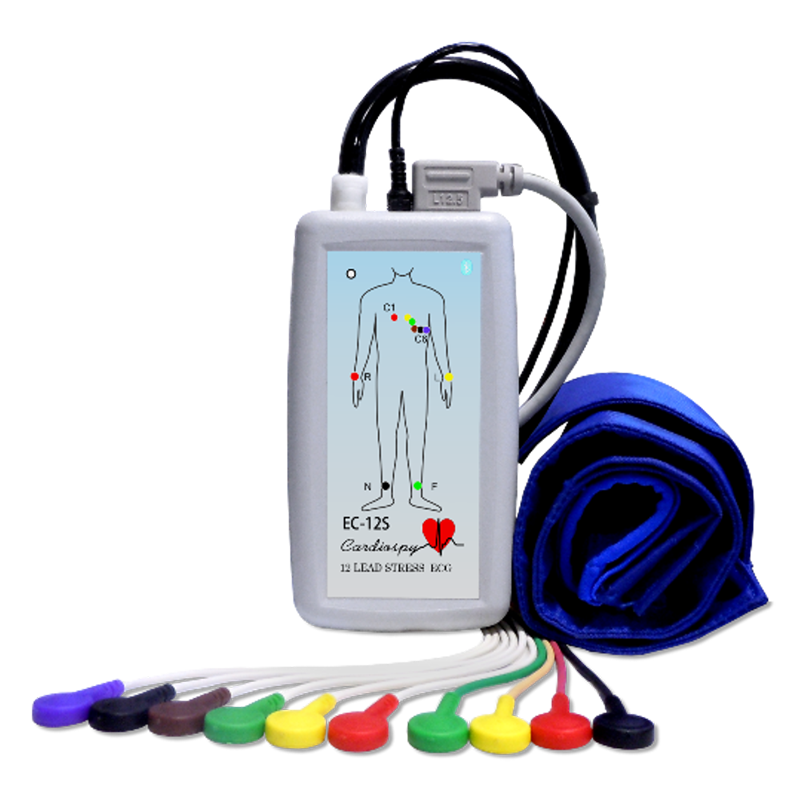 Stress Test Code: Tensiomètres, Holter, Monitoring