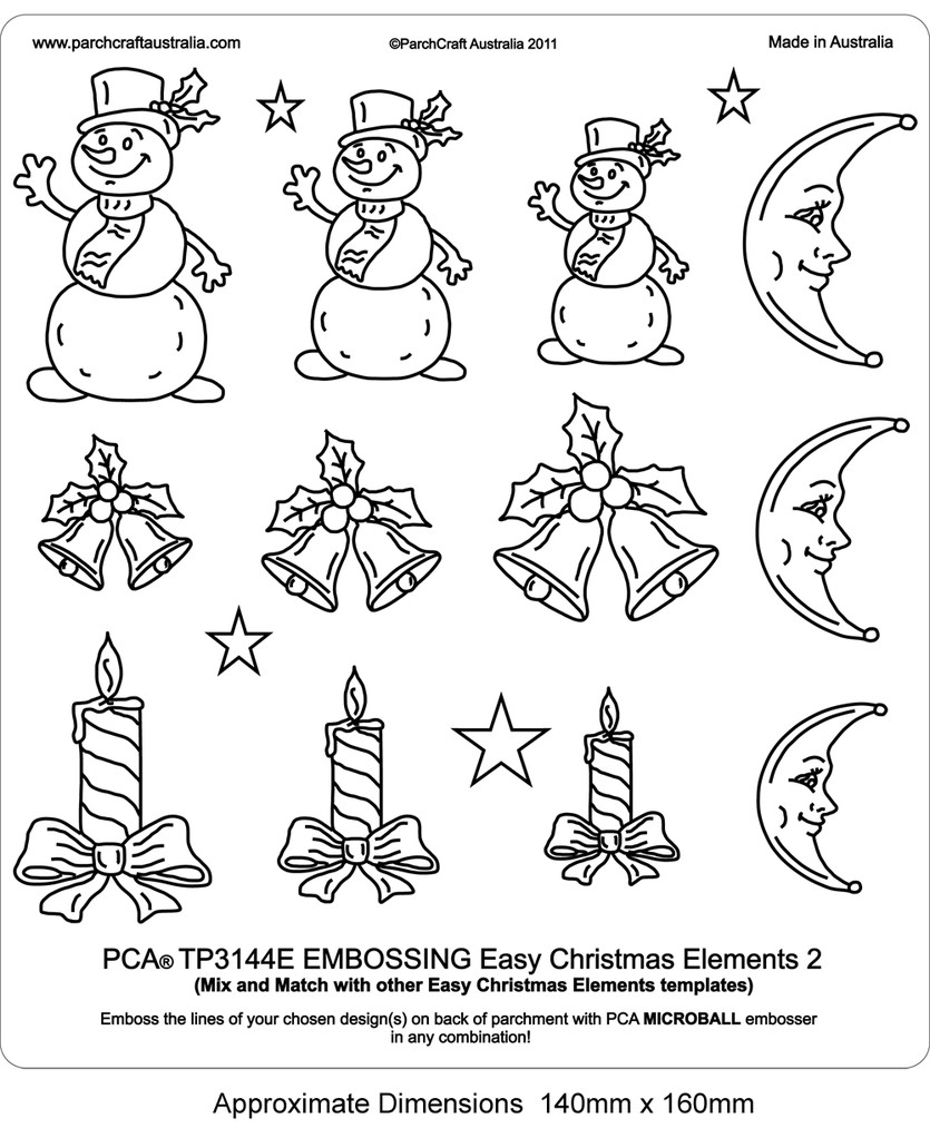 Pca Template Easy Christmas Elements 2