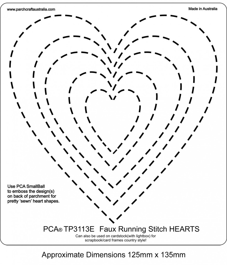 PCA Embossing Templates - Frames and Corners - Craft Supplies