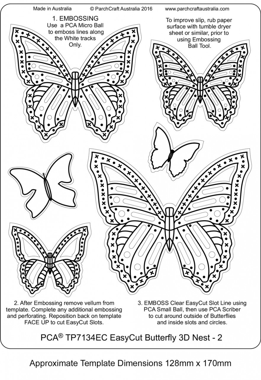 EasyCut Templates from PCA - Craft Supplies