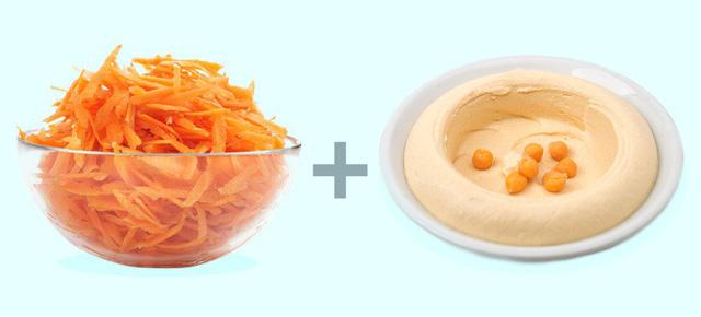 giảm cân bằng cách kết hợp thực phẩm