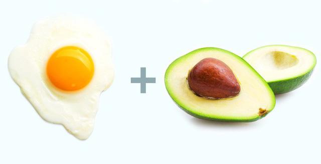 bơ trứng giảm cân