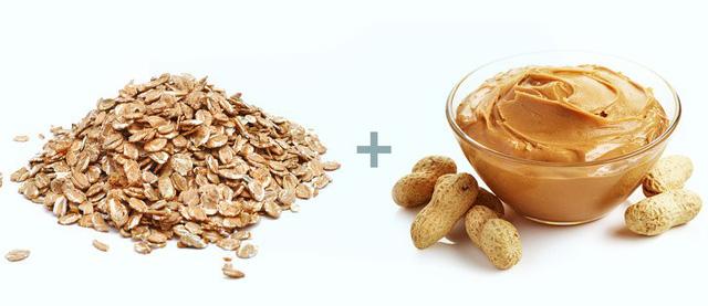 bột yến mạch bơ đậu phộng giảm cân