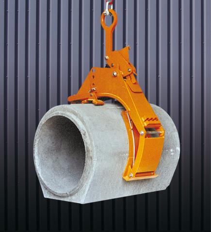 Pinzas tubos hormigón 1064