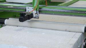Máquina de corte paneles aislamiento