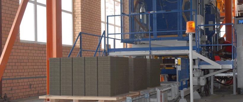 Fabricación de bloques y adoquines de hormigón - Zenith