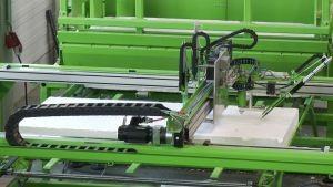 Unidad procesamiento polispan paneles de hormigón