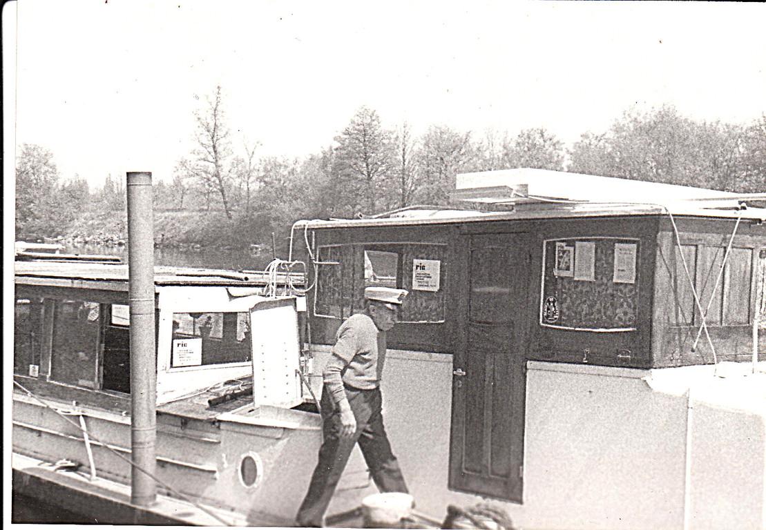 Ric's Art Boat. 1974 Captain Gaston
