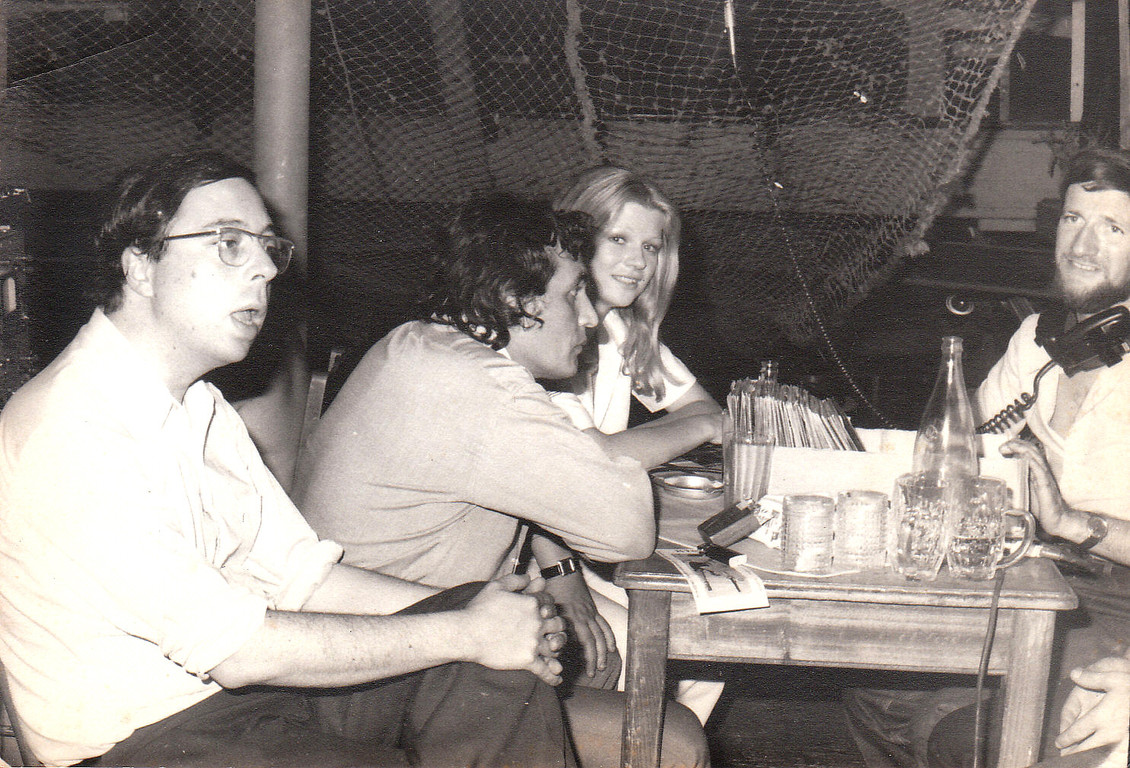 Jacques Mercier, anchorman of RTB, hosted one of these trips in 1974