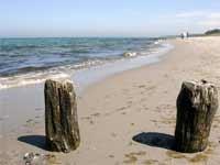 West-Strand auf dem Darß, Ostsee