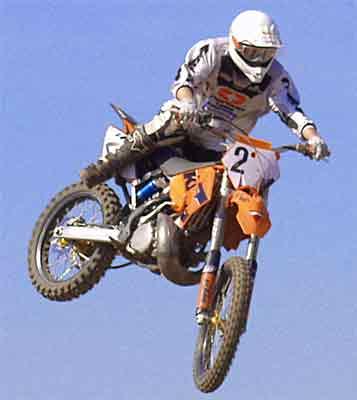Marco Piossek, Motocrosser aus Stendal, KTM 250 ccm