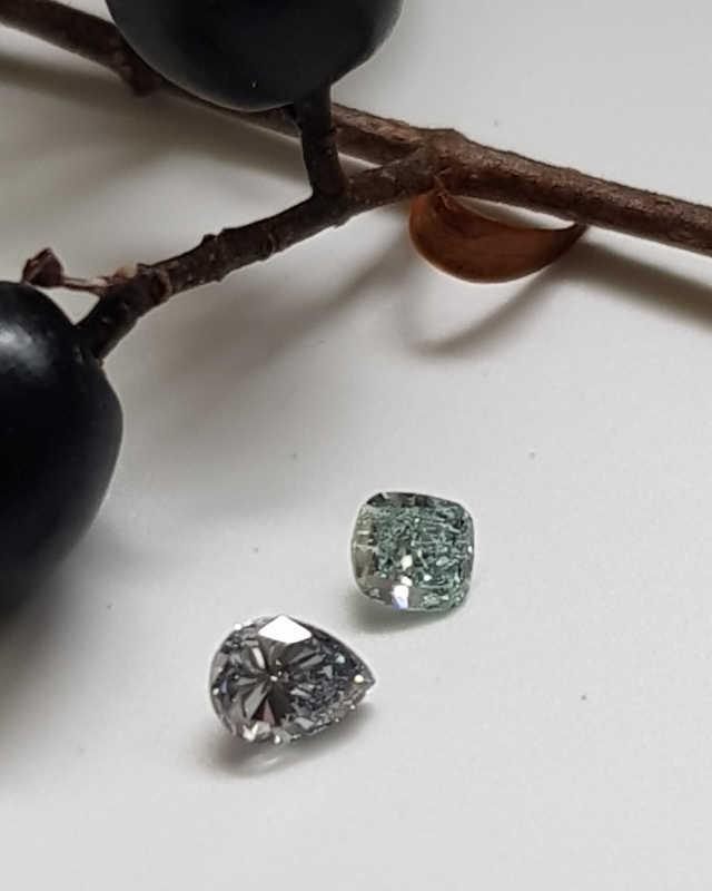 Wissenswertes zu blauen Diamanten