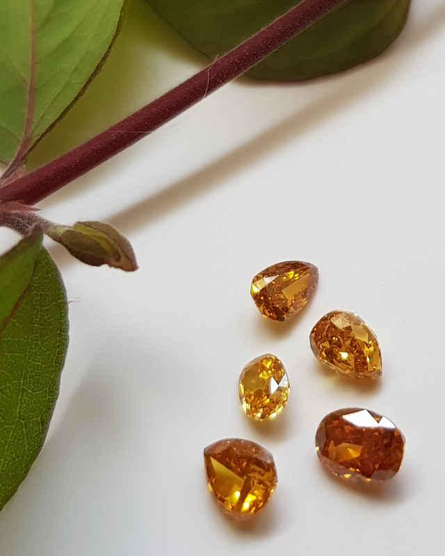 Wissenswertes zu orangenen Diamanten