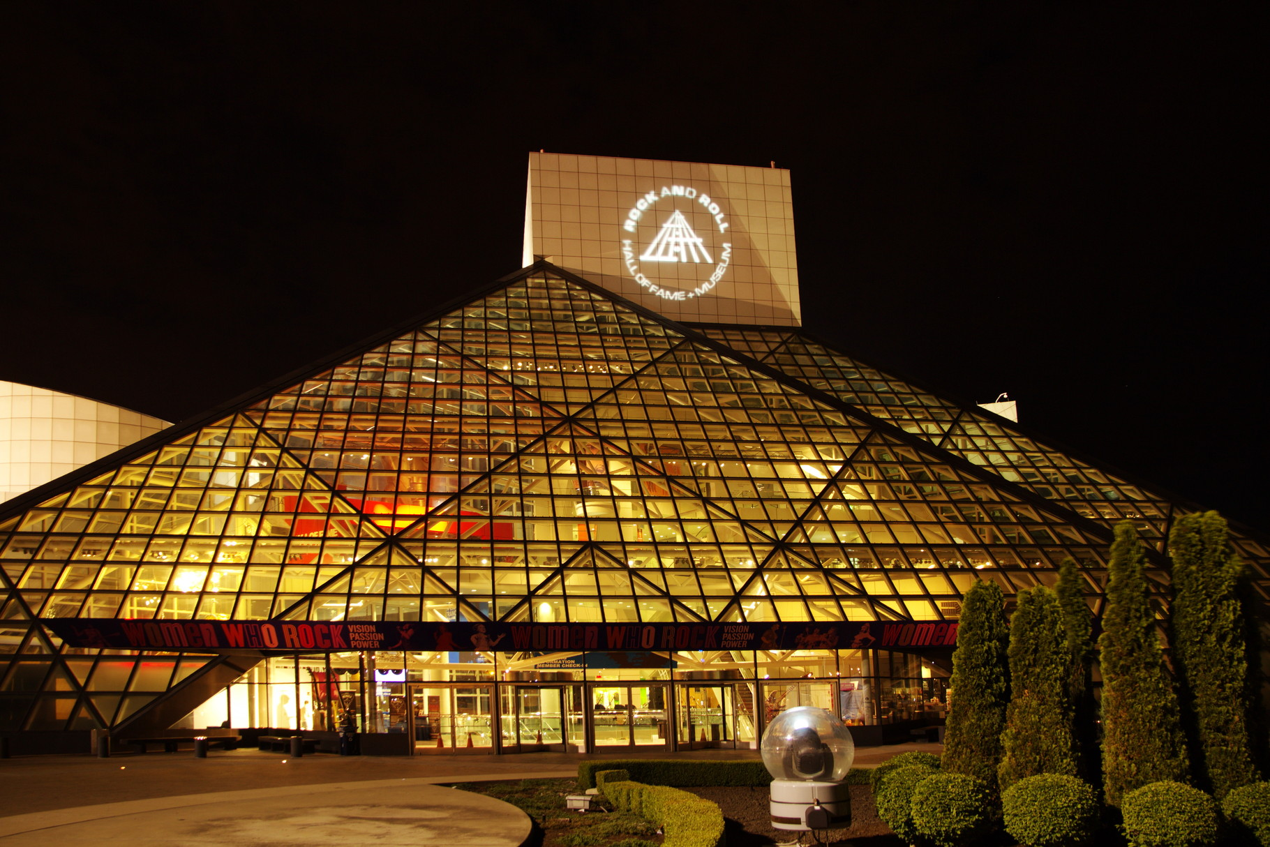 Rock'n'Roll Hall of Fame in Cleveland, USA