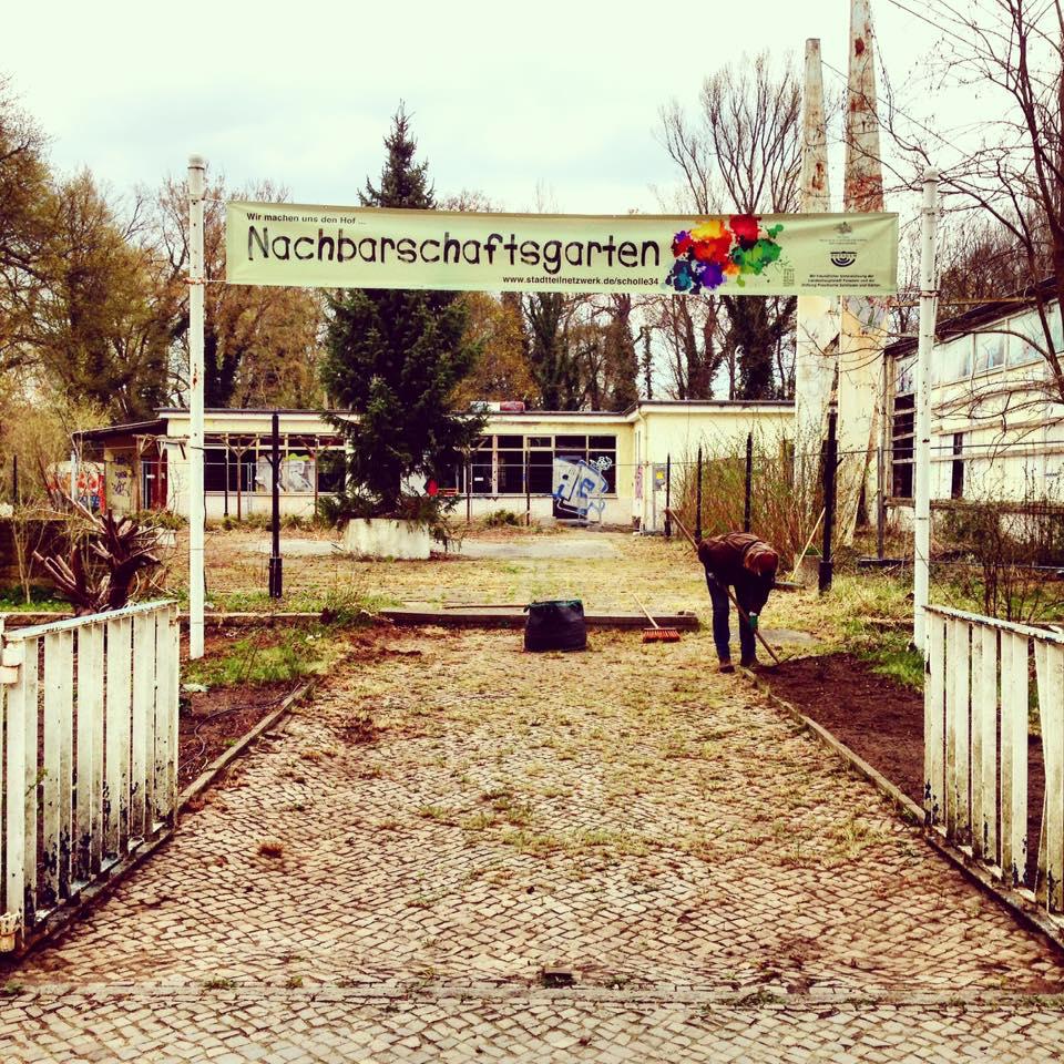 Wir laden ein zur OpenAir-Nacht in den Nachbarschaftsgarten in Potsdam-West.