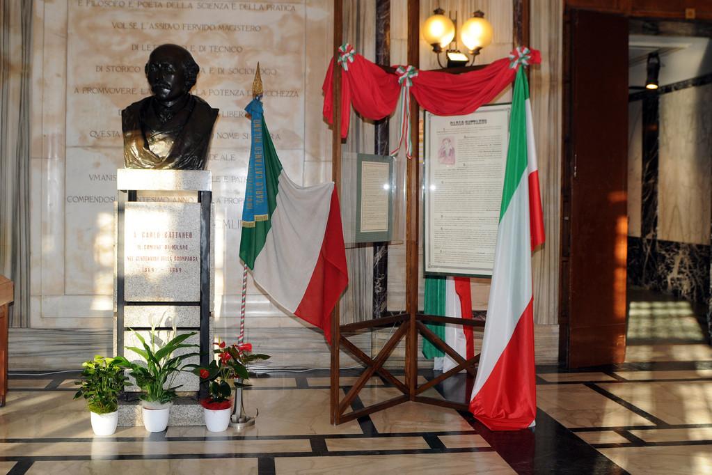 Atrio dell'Istituto Carlo Cattaneo
