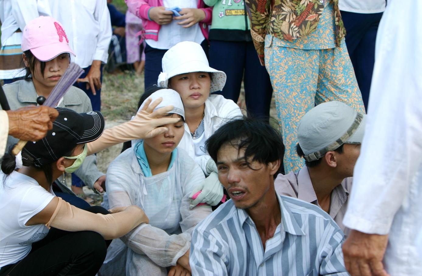 Das ganz Dorf trauert mit der Familie.