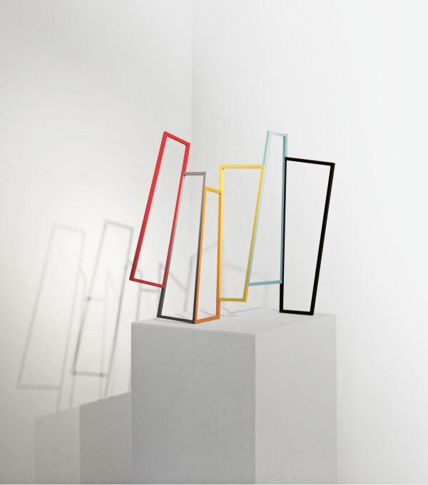 """""""Leporello"""", 2018, 64x62x14cm, Eisen, lackiert"""