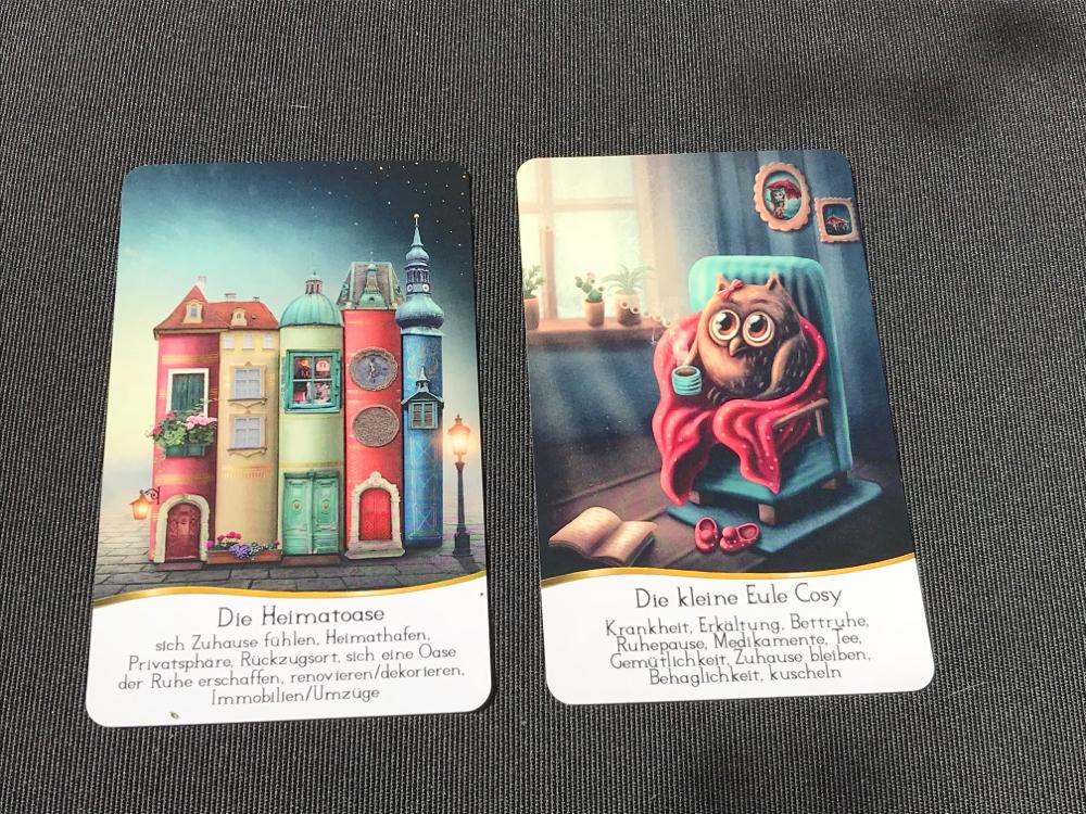 Sans Souci Cards von Nadine Breitenstein auf Phönixzauber kostenlose Tagesbotschaften