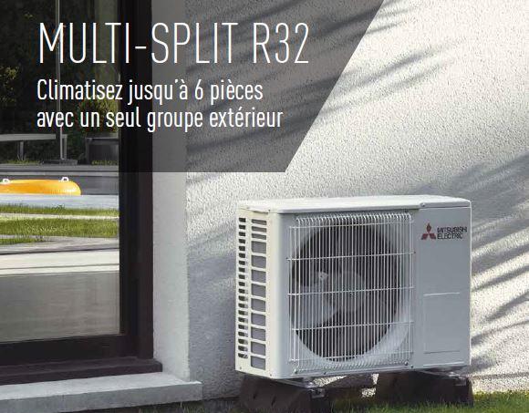 Climatisation Chauffage Multi Split R32