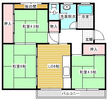 小金原団地7-1-17 402