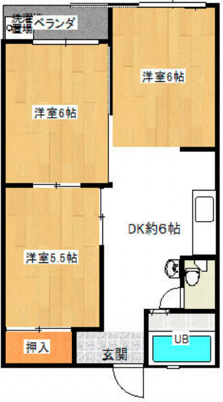 小金原第7コーポラス 208号室