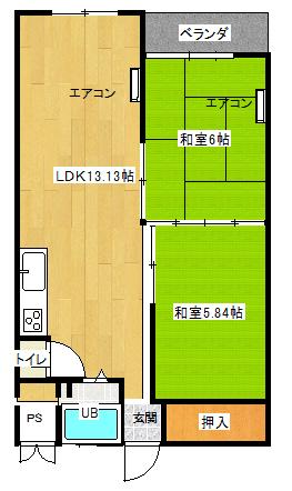 小金原第8コーポラス 503号室