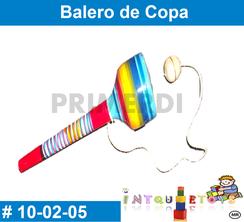 balero de copa juguete popular mexicano