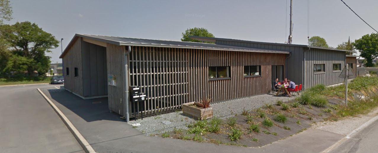 Bâtiment tertiaire : maison médicale de Saint Jean Brévelay - étude structure bois