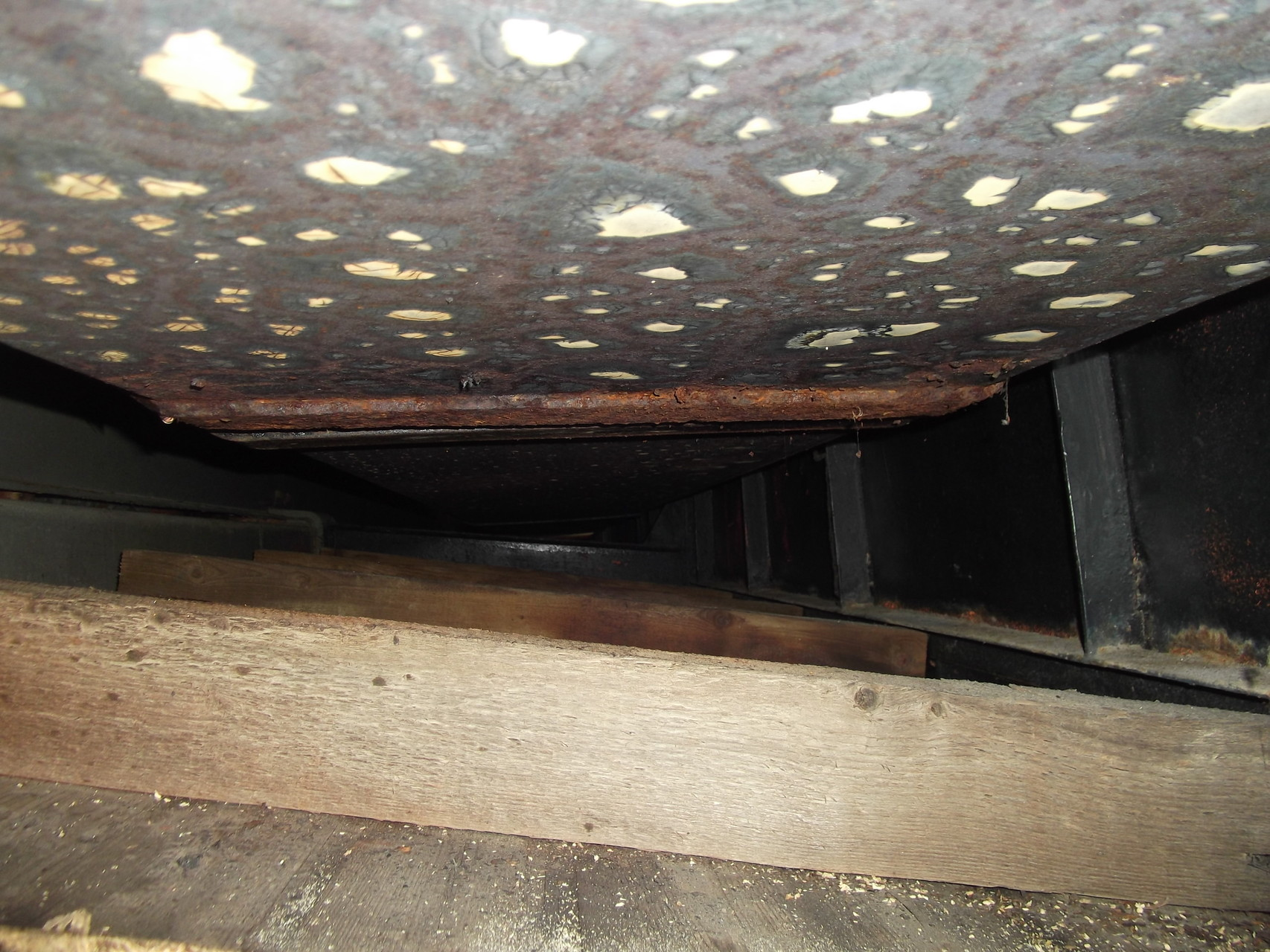 E.R.P. : salle de sport - couverture type bas acier - chaineau acier dégradé (4)