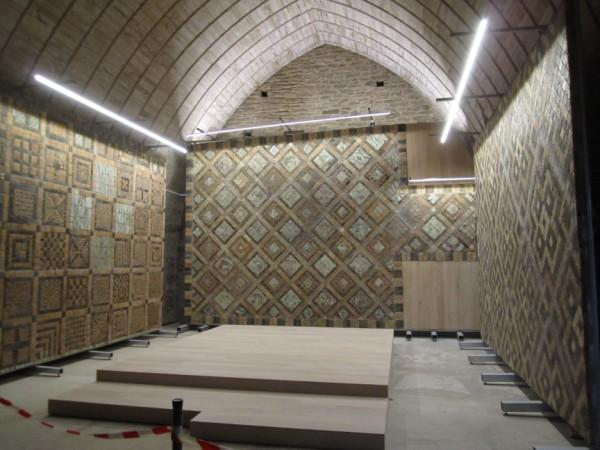 E.R.P. : château de Suscinio dans le Morbihan - étude support de mosaïques