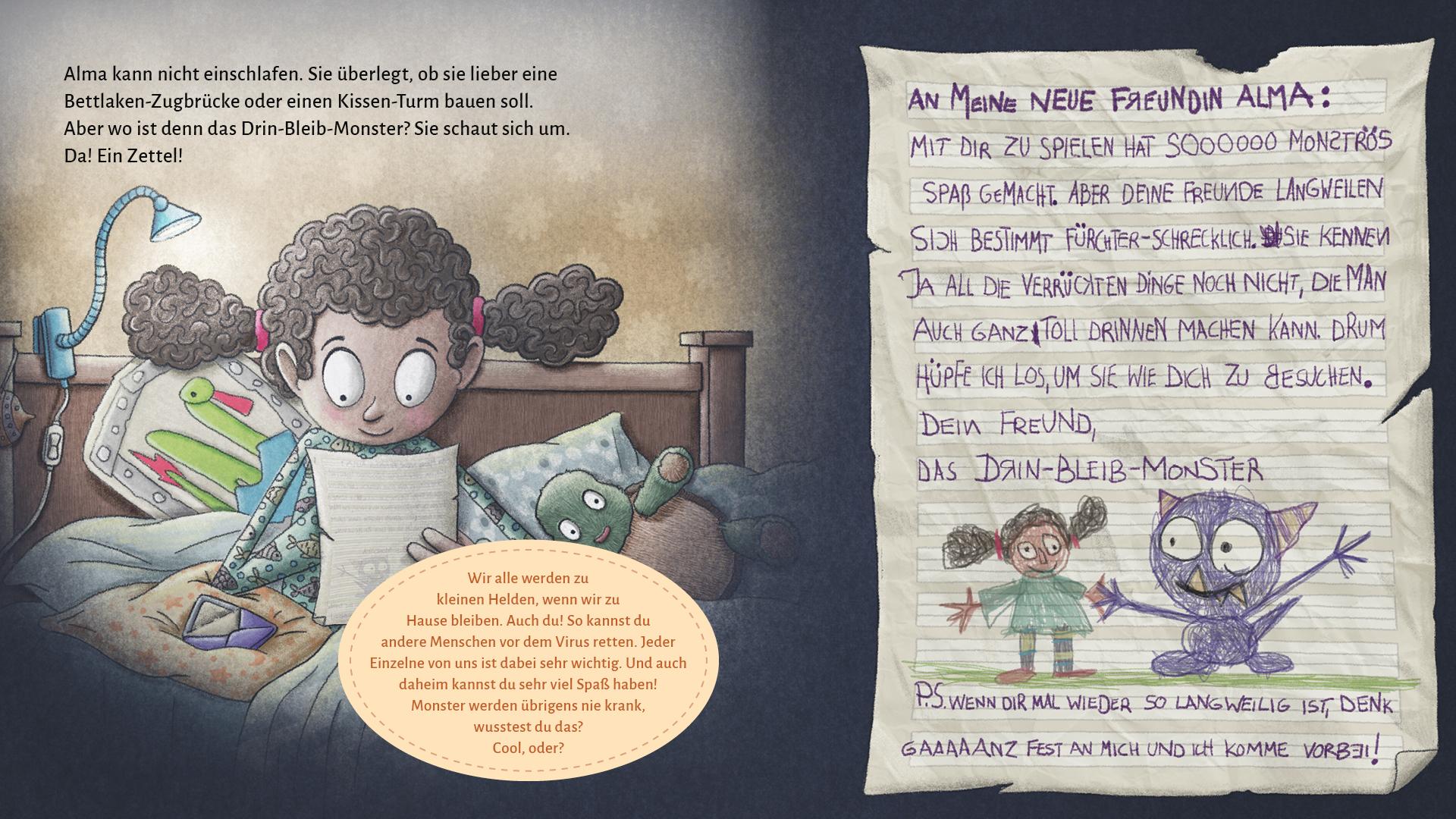 """Seite 25 - 26 """"Das Monster, ein Freund"""""""