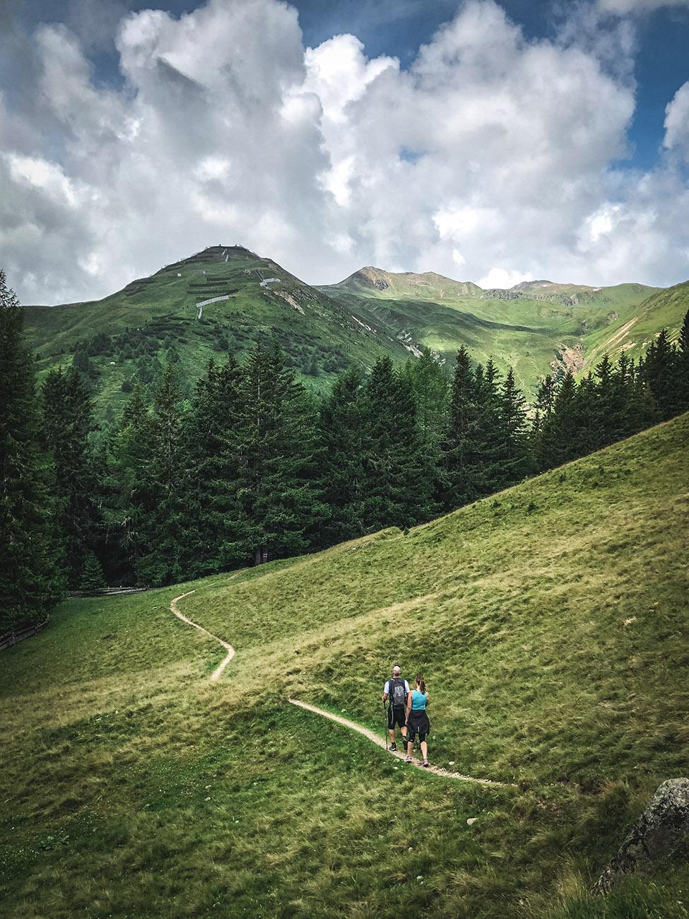 Alpen-Rundwanderung Schatzalp - Erbalp - Stafelalp - Frauenkirch - Davos