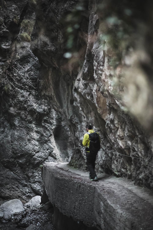 Ehnbachklamm - Schluchtenwanderung/Rundwanderung über Kalvarienberg - Zirl, in der Nähe von Innsbruck - Wandern, Klettern, Baden, Picknick