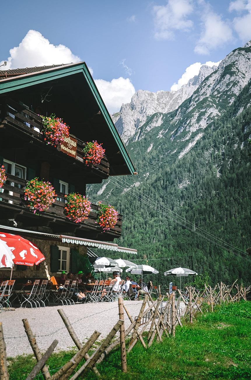 Leutascher Geisterklamm - Gasthof Gletscherschliff
