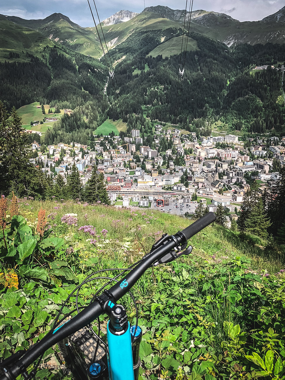 Bike Technik Trail DAVOS - Jakobshorn