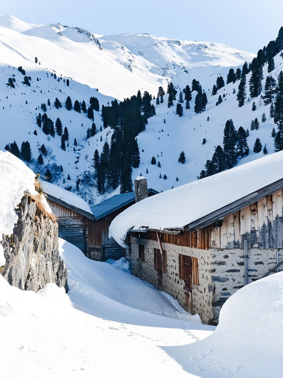 Nafingalm, Weidener Hütte, Tuxer Alpen, Tirol