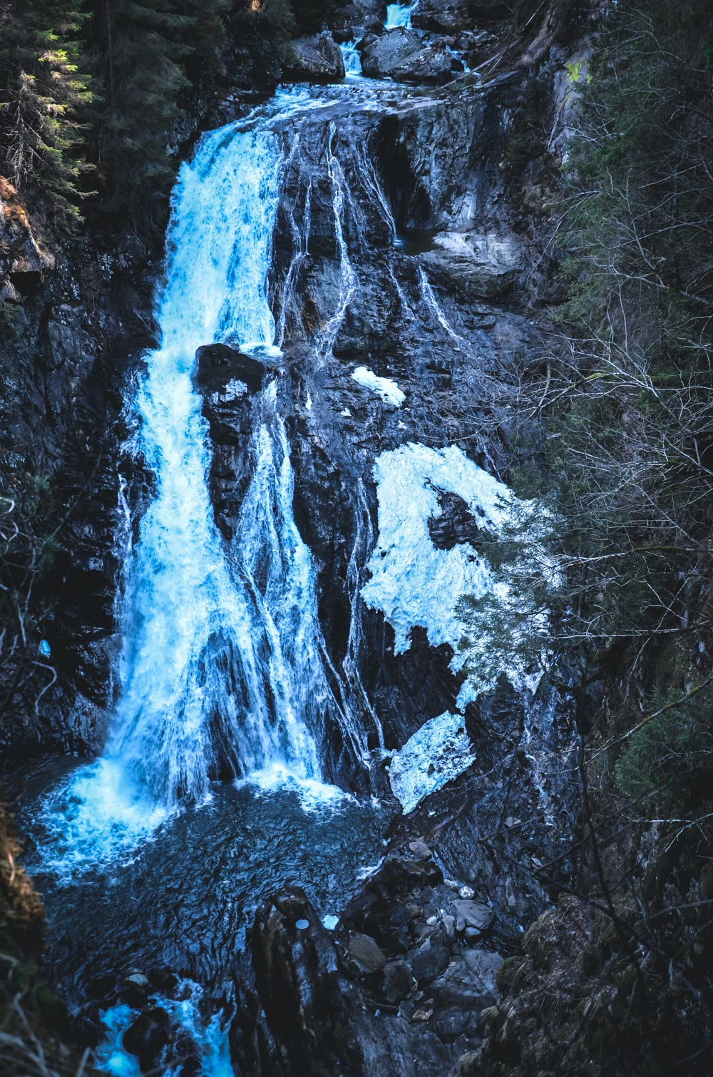 Reinbach Wasserfälle Wasserfall - Sand in Taufers - Ahrntal - Südtirol
