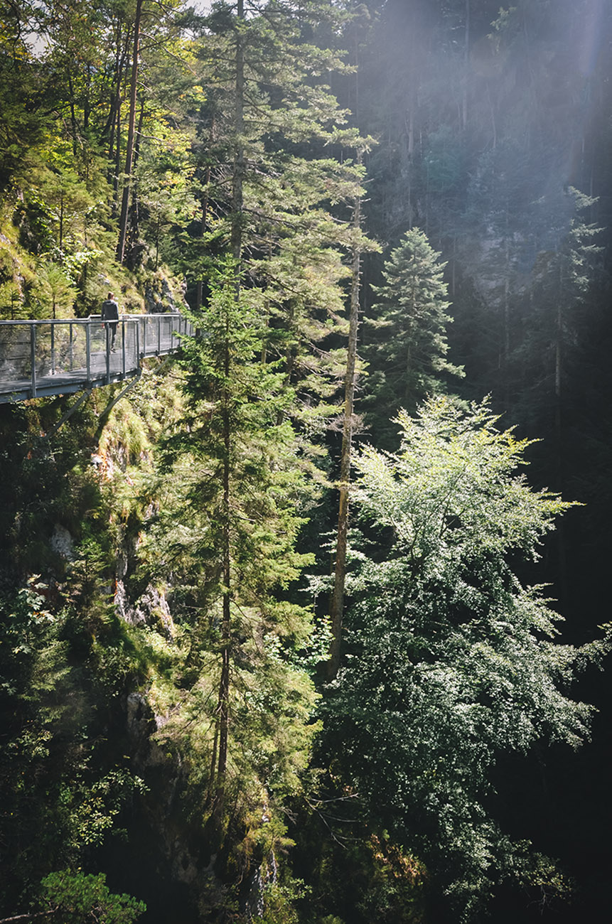 Leutascher Geisterklamm - Klammgeistweg