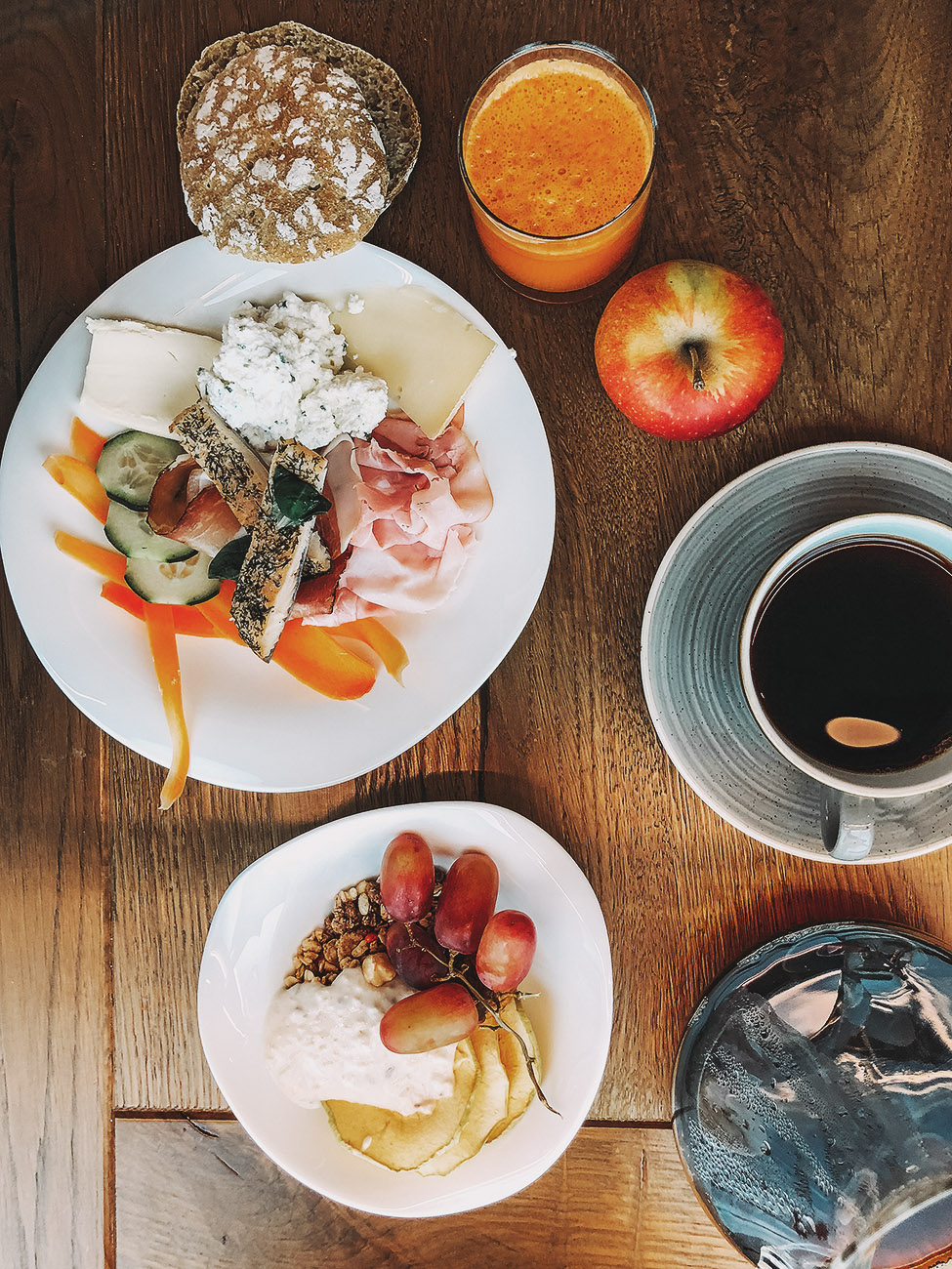 r30 Frühstück im Alpin und Relax Hotel DAS GERSTL (Südtirol,Vinschgau)