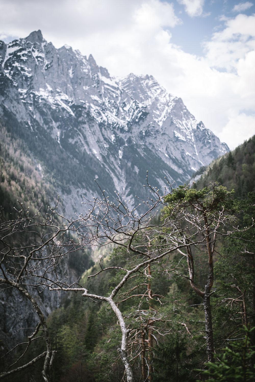 Wanderung Karwendel/Tirol: Vomper Loch - Zwerchloch