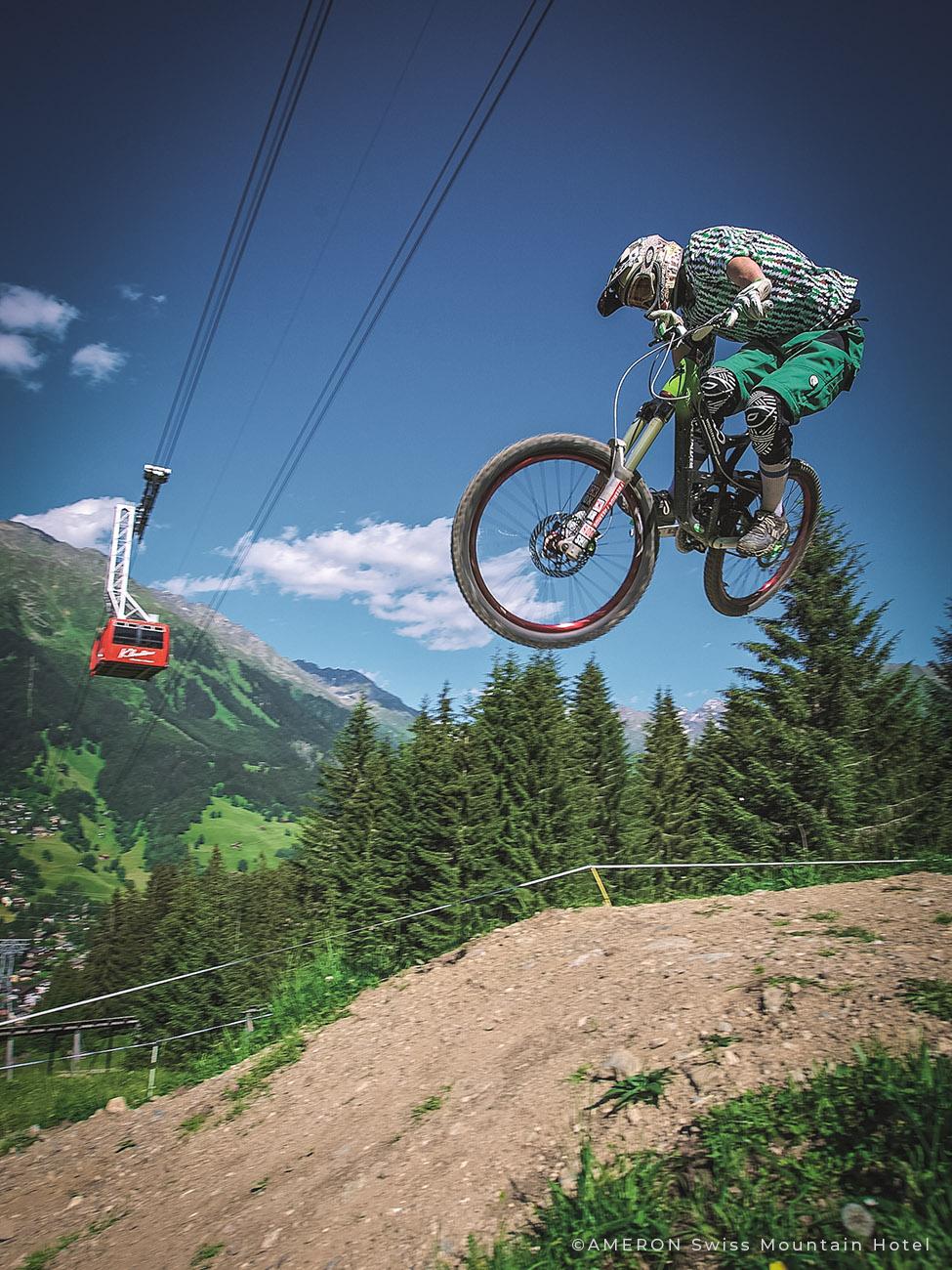 Singletrail Mountainbike DAVOS - Jakobshorn