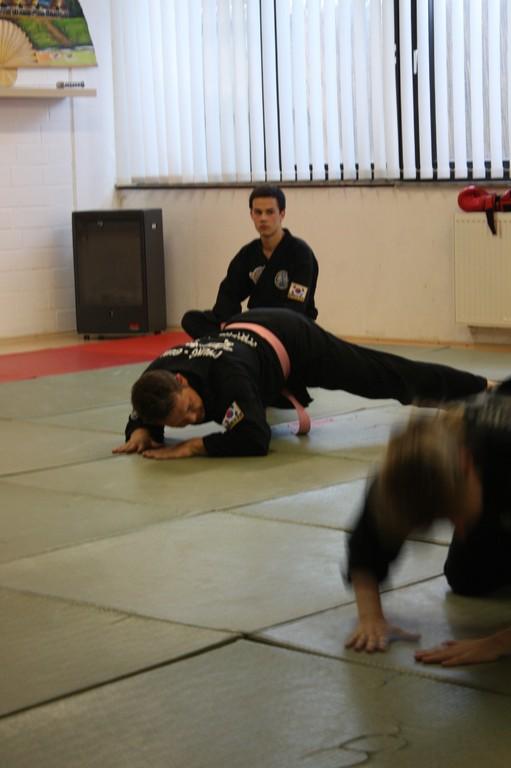 Kuksool Hapkido - Prüfung 5.Juni 2009 - Sportschule Jan Springer
