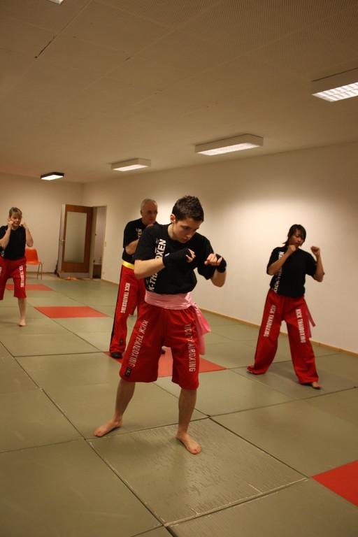 Kick-Thaiboxen  - Prüfung 04.März 2011 -Sportschule Jan Springer