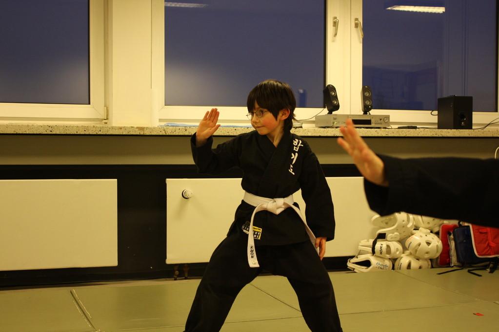 Tiger Kid´s Hapkido Stade - Prüfung 04.März 2011 - Sportschule Jan Springer